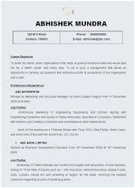 Junior Java Developer Resume Thomasdegasperi Com