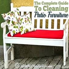 how to clean patio furniture cushions how to clean outdoor furniture cushions how to clean patio