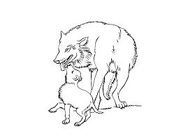 119 Dessins De Coloriage Loup Imprimer