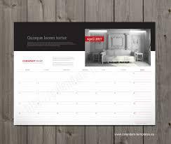Printable Monthly Calendar 2018. Photo Calendar Template