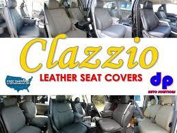 03 05 dodge ram 1500 quad cab clazzio leather seat covers black full set