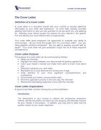 Cover Letter Definition Cover Letter Definition Resume Idea 1