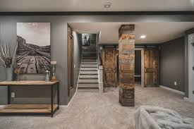 How to remodeling basement paint, title: Rustic Basement Ideas Basement Rustic With Reclaimed Barn Wood Media Cabinets Rustic Basement Basement Makeover Finishing Basement