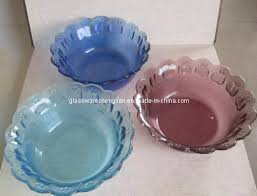 solid color glass bowl w 03
