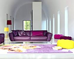 purple leather couch purple sofas living rooms living room design with purple sofa and yellow colorful