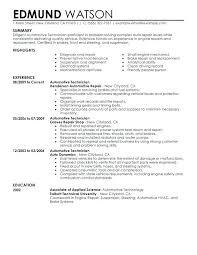 Auto Technician Job Description Auto Mechanic Certification Auto