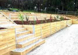 wooden retaining walls design landscaping timber ideas wooden retaining wall landscape timber retaining wall home wood wooden retaining walls