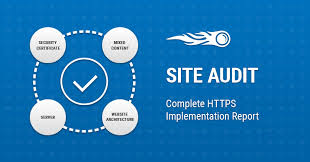 Аудит сайта отчет Реализация semrush Русский site audit complete implementation report banner