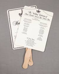 Wedding Program Fans Cheap Rustic Wedding Program Fans With Elegant Chandelier And String