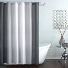 white hookless shower curtain snap liner smlf