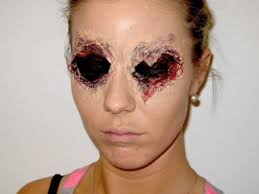 one eye not enough for you this video shows you how to make both your eyes look like someone s just shot them out wonder how you ll still be able to see