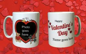 Especially if your guys interests have lately been limited to. Personalised Valentines Day Mug Add The Photo Folksy