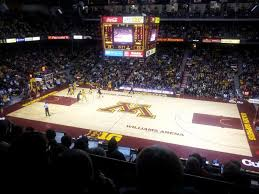 Williams Arena Minnesota Seating Chart Williams Arena Interactive Seating Chart