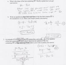 writing equations of parallel and perpendicular lines worksheet