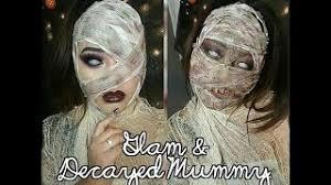 glam and deca mummy makeup tutorial series