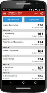 Timesheet Or Timesheet Time Tracking App For Android Employee Timesheet App By Tsheets