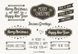 Hand Drawn Style Christmas Labels 131345 Welovesolo