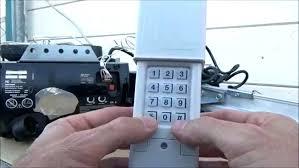 programing craftsman garage door keypad programming craftsman garage door opener keypad smart learn on rare how