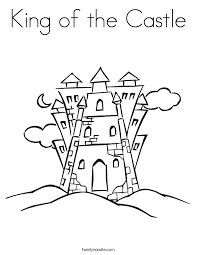 Small Picture Coloring Page Castle Top Printable Castle Coloring Sheet Coloring