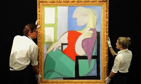 picasso painting s for more than 28 5m at auction as s for sought after works soars daily mail