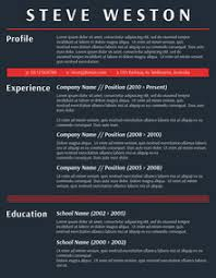 ... Strikingly Inpiration Fancy Resume 2 49 Modern Resume Templates To Get  Noticed By Recruiters ...