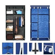 full size of hanging closet clothes organizer portable storage wardrobe rack with shelves stock fabric