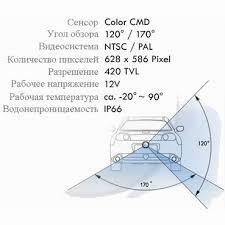 <b>Камера заднего вида Incar</b> VDC-104 для Hyundai Santa Fe(2012 ...