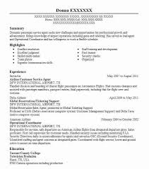 airline resume format airline customer service agent resume sample livecareer