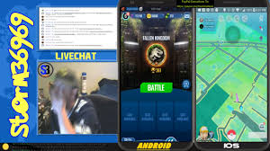 Pokemon GO - By iSpoofer & iTools Dual Screen Madness 4 JWA and Pokemon GO  - 08-01-18 by storm3_6969