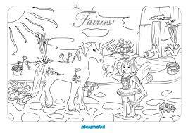 Playmobil Kleurplaten Regina Fee Ausmalbilder Pferd Ausmalen
