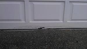 fix garage doorTemporarily fix garage door rot at the bottom of the door