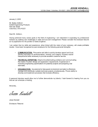cover letter samples career change  cover letter example