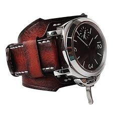 luxury premium engraved personalized leather watch band strap cuff the king