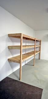this is the fastest and easiest way to build garage shelving detailed tutorial by ana white com