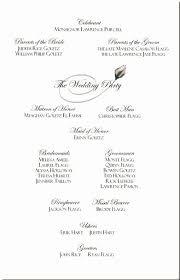 Wedding Reception Program Template Free Unique Catholic Wedding