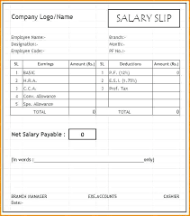 Payslip Template Download Pay Slip Templates Of How To Put ...