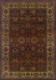 sphinx by oriental weavers area rugs kharma 332c4 red traditional style free at powererusa com