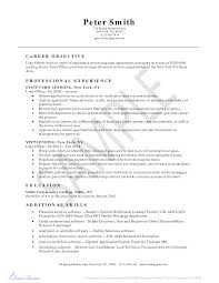 Resume For Business Loan