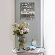 bless our home with love and laughter wall art on bless our home wall art with bless our home with love and laughter wall art s07685 the home depot