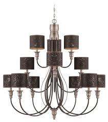 jeremiah lighting 28112 hibnk preston hollow chandelier iron brushed nickel