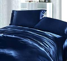 king bed sheet size dark blue bedding set silk satin queen fitted sheets quilt duvet cover