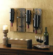 metal wine racks wall mounted this unique and rustic wall mounted wine rack will attract a