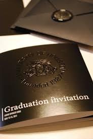 Elegant Graduation Announcements Adams Modern Black And White Graduation Invitations