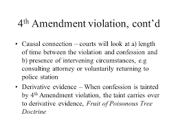 Davenport Basic Criminal Law 2 Nd Ed© 2009 Pearson Education Fruit Of Poisonous Tree Doctrine Definition