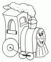 While a toddler or preschooler might scribble all over a coloring sheet, with no respect for the boundaries (lines on the coloring page), as the child gets older, they will begin to respect those lines. Train Pictures For Kids Coloring Home