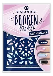 Купить <b>наклейки для ногтей broken</b> holo nail stickers essence ...