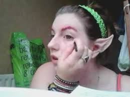 dark elf makeup photo 3