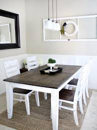 incredible dining room tables calgary. Wonderful Room Amazing Two Tone Farmhouse Dining Table Concrete Tables In Calgary For  Throughout Incredible Room E