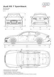 Longueur Audi A7 Sportback РId̩e d'image de voiture