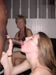 Daughter sucking black cock